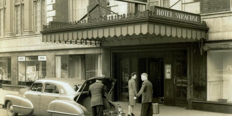 Hotel Syracuse Marquee Original