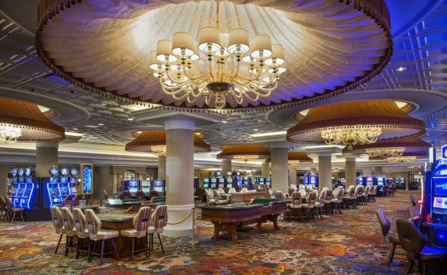 Blu casino renovation