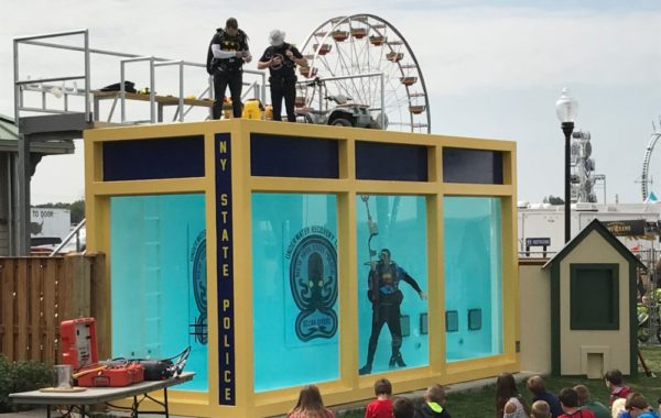 NYS Police Dive Tank